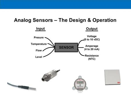 Analog Sensors – The Design & Operation