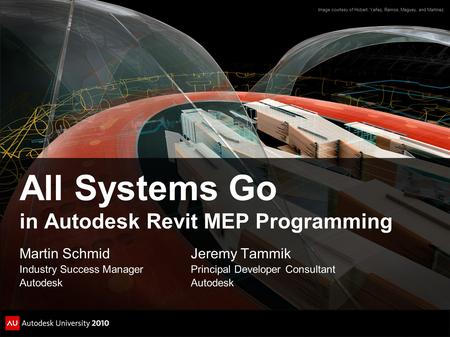 All Systems Go in Autodesk Revit MEP Programming