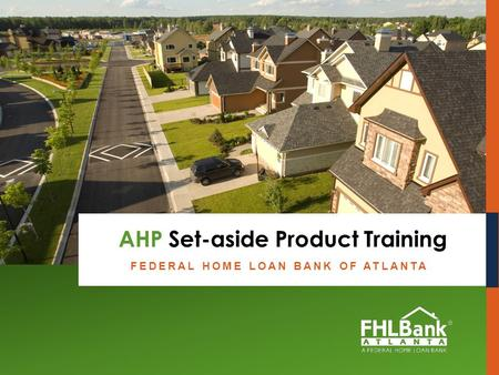 AHP Set-aside Product Training
