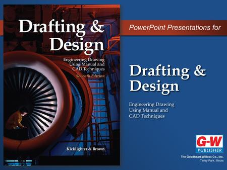 Section 1 Introduction to Drafting Chapter 3 Introduction to CAD.