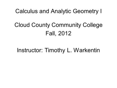 calculus and analytic geometry pdf free download