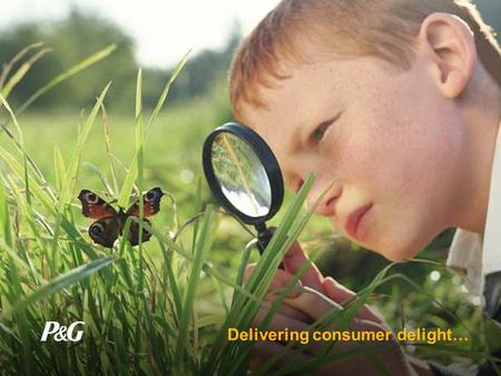Delivering consumer delight…. Social Responsibility Environmental Responsibility Sustainability … better quality of life for everyone, now and for generations.