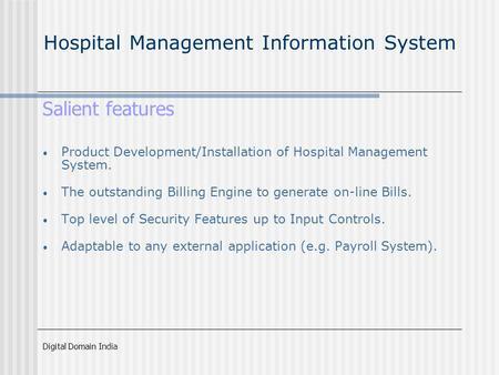 Erp Solution For Hospitals Ppt Video Online Download