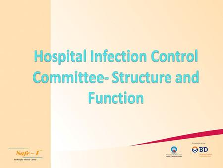 HICC An Infection Control Committee provides a forum for multidisciplinary input and cooperation, and information sharing This committee should include.