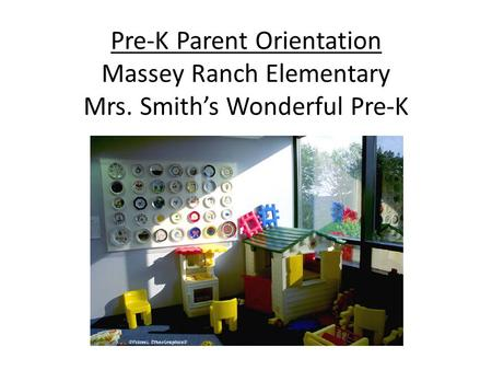 Pre-K Parent Orientation Massey Ranch Elementary Mrs