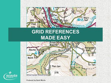 GRID REFERENCES MADE EASY