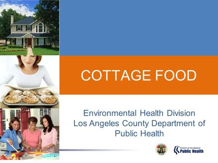 COTTAGE FOOD Environmental Health Division
