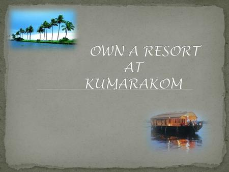 Every visitant <strong>in</strong> Kumarakom will be amused at the natural beauty of mangrove forests, paddy fields and the backwaters of vembanadu lake. An evening jaunt.