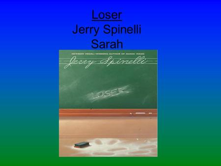 Loser Jerry Spinelli Sarah
