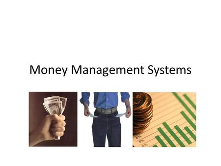 Money Management Systems. Introduction Technical signals are useful for entry, but technical understanding of risk is even more important. Remember the.