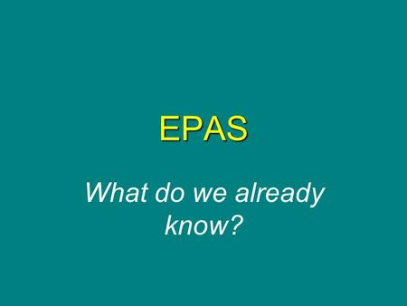 EPAS What do we already know?. SENATE BILL 130 Beginning in the 2007-08 school year, all Kentucky public-school students are required to take the Educational.