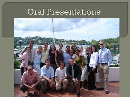  Presentations in St. Lucia  Presentation tips  Overcoming your fears  Template we use.