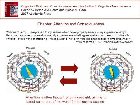 Cognition, Brain and Consciousness: An Introduction to Cognitive Neuroscience Edited by Bernard J. Baars and Nicole M. Gage 2007 Academic Press Chapter.