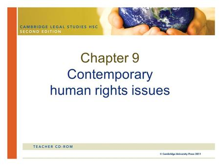 Chapter 9 Contemporary human rights issues. Human trafficking refers to the commercial trade or trafficking in human beings for the purpose of some form.