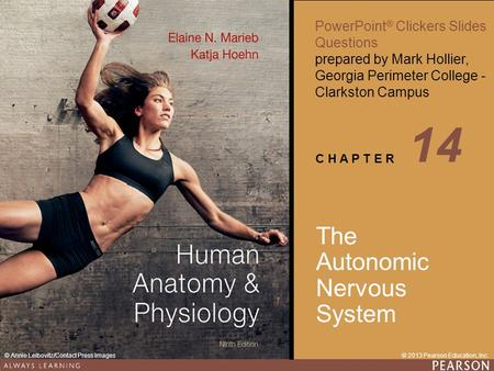 14 The Autonomic Nervous System.