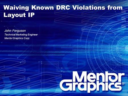 Waiving Known DRC Violations from Layout IP
