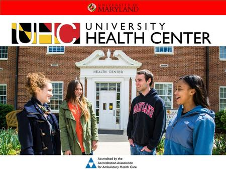 Leading the Way to Healthier Terps. STUDENT SERVICES INCLUDE: Primary Care Triage Women's Health Lab Pharmacy Mental Health, Substance Abuse & Sexual.