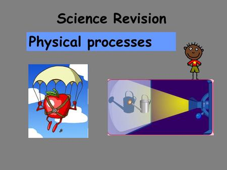 Science Revision Physical processes. Forces A push, pull, twist or turn acting on an object. What is a force? How many forces do you know?