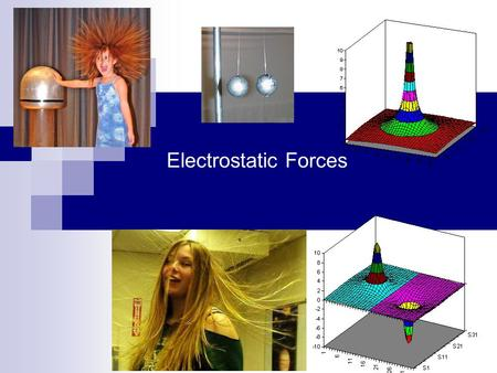 Electrostatic Forces.