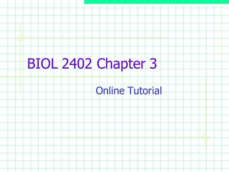 BIOL 2402 Chapter 3 Online Tutorial. Topics: I. Review of membrane structure II. Membrane transport A. Permeability B. Diffusion.