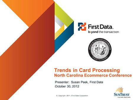 Trends in Card Processing North Carolina Ecommerce Conference