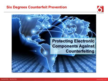 Protecting Electronic Components Against Counterfeiting