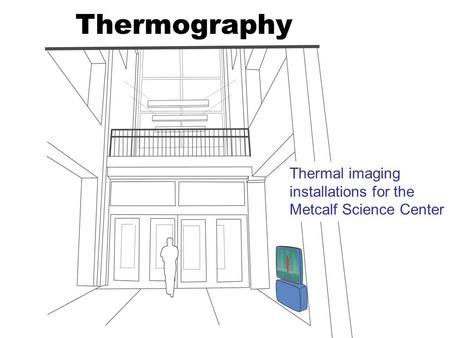 Thermography Thermal imaging installations for the Metcalf Science Center.