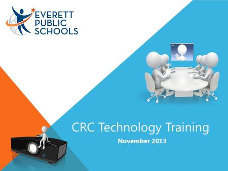 CRC Technology Training November 2013. Help and How-To.