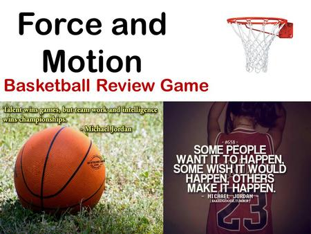 Basketball Review Game