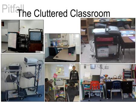 Pitfall The Cluttered Classroom. $189 $220 $205 $115 $360 Total: $1,090 TeachWell… $899 PLUS labor and installation!!