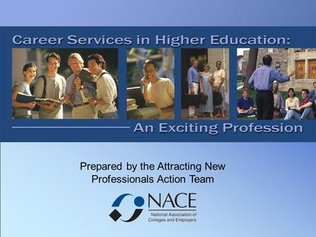 Prepared by the Attracting New Professionals Action Team.