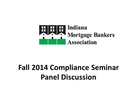 Fall 2014 Compliance Seminar Panel Discussion