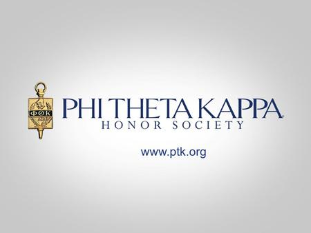 Www.ptk.org. Members & advisor of Omega Nu, Delgado Community College, New Orleans, LA Phi Theta Kappa Membership An Honor Earned Click Here to Learn.