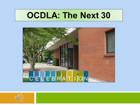 OCDLA: The Next 30 The Oregon Public Defenders Association was founded in 1979 and was quickly restructured and renamed the Oregon Criminal Defense Lawyers.