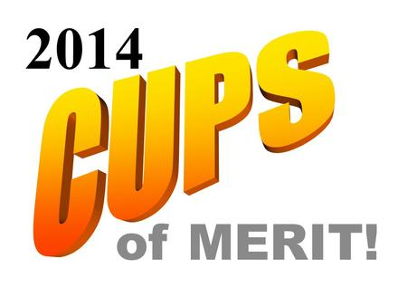 "Of MERIT! 2014. At each year's NCECA Cup Sale, three cups are granted the ""Cups of Merit"" Award. Recipients are commissioned to create works used as official."