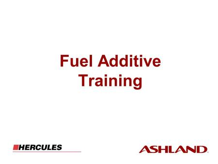 Fuel Additive Training. Cost Factor in Oil Fired Plant.