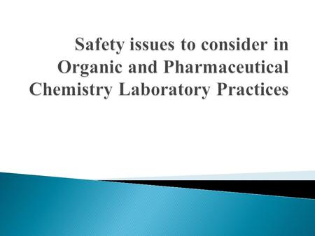 There are simple DO and DO NOT rules in chemistry laboratory practices. It is expected that each student absolutely obeys these rules during the laboratory.