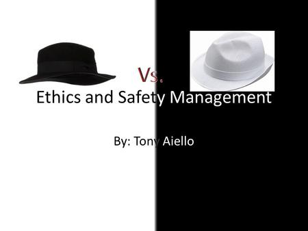Ethics and Safety Management. Health Safety When using a computer for long periods of time, you can cause health risks ranging from minor to major. Ex.