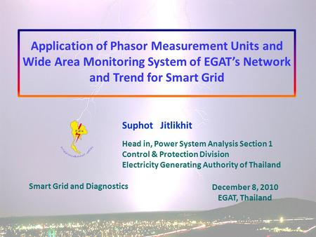 and Trend for Smart Grid