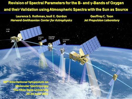 Revision of Spectral Parameters for the B- and γ-Bands of Oxygen and their Validation using Atmospheric Spectra with the Sun as Source 66 th International.