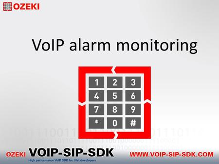 VoIP alarm monitoring. Traditional alarm systems Motion sensor Smoke detector Camera Premise Controll Unit Fire station Security service Central station.