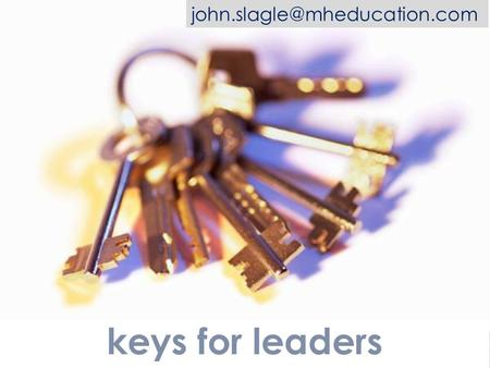 Keys for leaders building foundational skills.