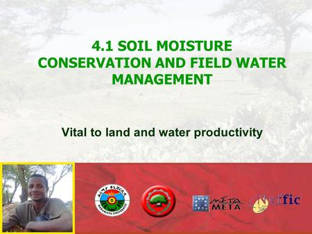 Why is soil moisture conservation and management vital in spate irrigation?