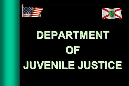DEPARTMENTOF JUVENILE JUSTICE. SEMINOLE REGIONAL JUVENILE DETENTION CENTER SLIPS TRIPS TRIPS& FALLS FALLS Developed by: V. Dyanne Alves.