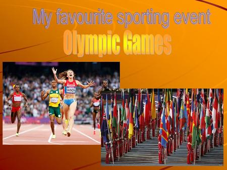 The modern Olympic Games is the leading international sporting event with summer and winter sports games in which thousands of athletes participate in.