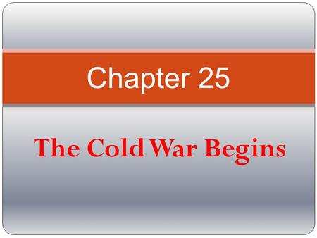 chapter 17 the cold war begins Document read online chapter 17 section 1 the cold war begins guided reading chapter 17 section 1 the cold war begins guided reading - in this site is not the same as a solution.