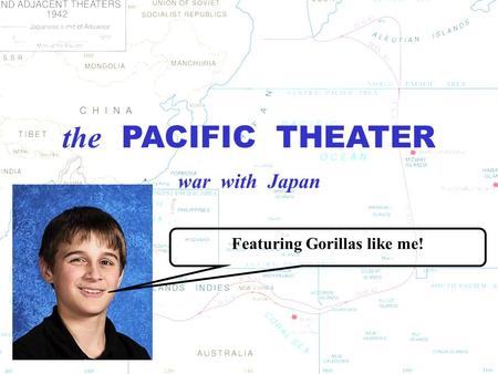 the PACIFIC THEATER war with Japan Featuring Gorillas like me!