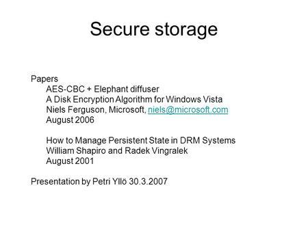 Cryptography engineering niels ferguson pdf