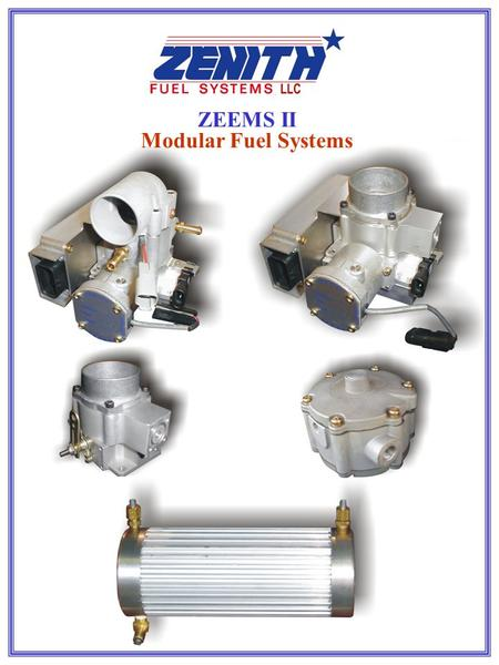 ZEEMS II Modular Fuel Systems. Electronic Fuel Injection System With Drive By Wire Gasoline 14570 Industrial Park Road  Bristol  Virginia  24202 