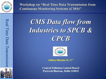 Preparedness Of Cpcb Spcbs For Online Data Management